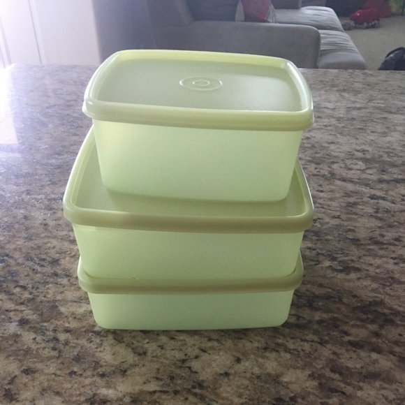 NEW Tupperware set of 3 Freezer Mates